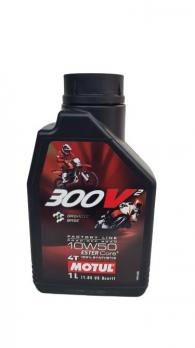 Масло для мотоцикла Motul 300V2 10w50 1L