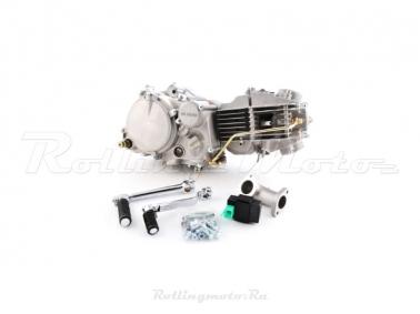 Двигатель в сборе YX 1P60FMJ (W150-2) 150см3, кикстартер