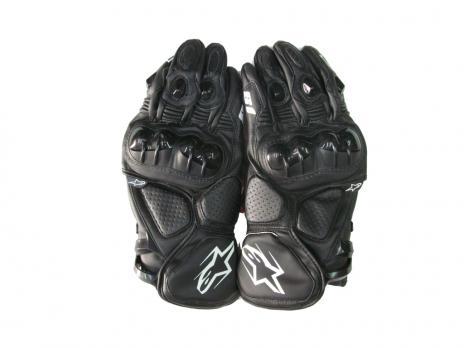 Перчатки Alpinestars S1чёрные кож.