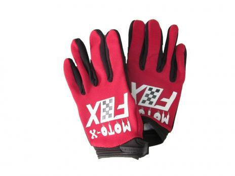 Перчатки FOX moto-x красные