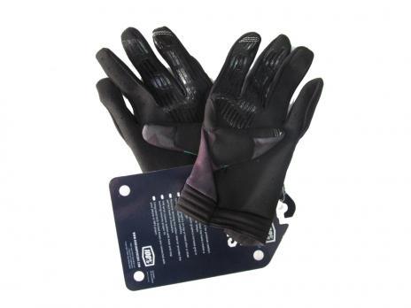 Перчатки 100%  чёрные