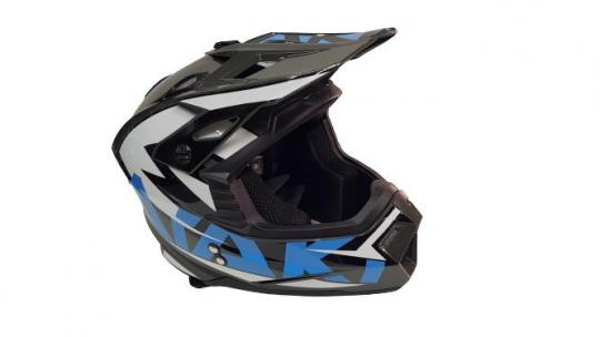 Шлем кроссовый Ataki 2021 синий