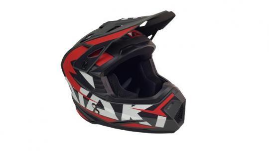 Шлем кроссовый Ataki 2021 красный